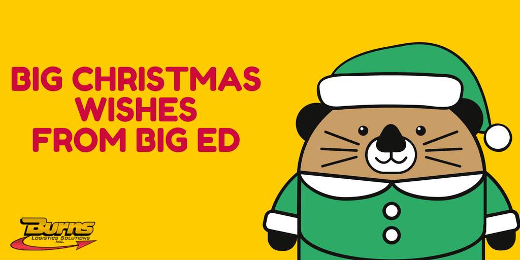 Big Christmas Wishes from Big Ed